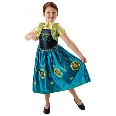 Disney-Frozen-Fever-Anna-Costume-Small-104cm-Age-3-5-Fancy-Dress-Up