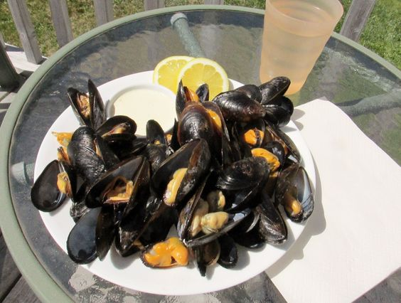 Mussels with saffron mayo - Barefoot Contessa Foolproof | Seafood ...