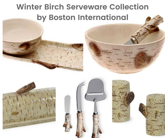 Birch Serveware Collection by Boston International