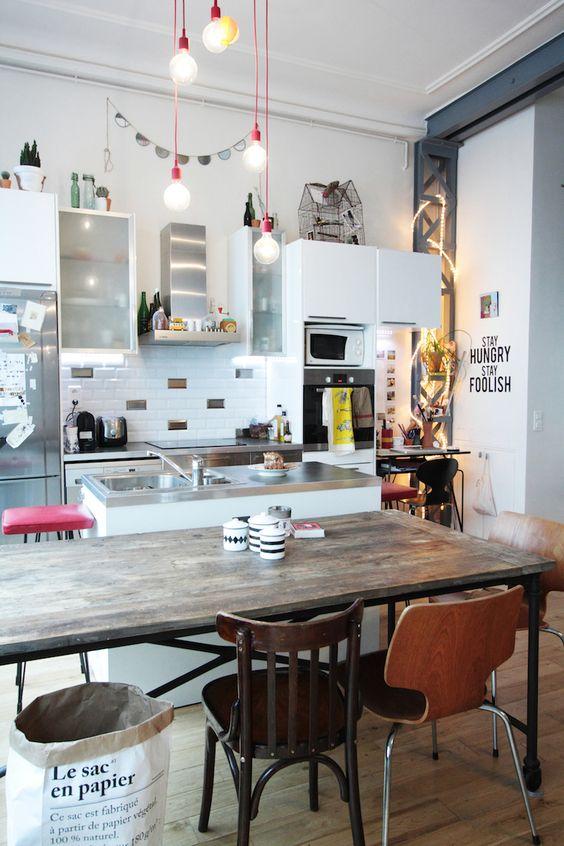 Bienvenue dans le loft parisien de Jennifer // Hëllø Blogzine hello-hello.fr: