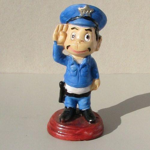 Figura de Cantinflas - Policia