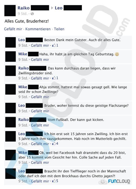 Facebook Fail des Tages