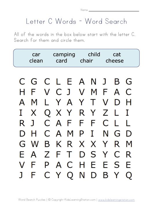 7 letter words starting with c words alphabet words and letter c on 1060