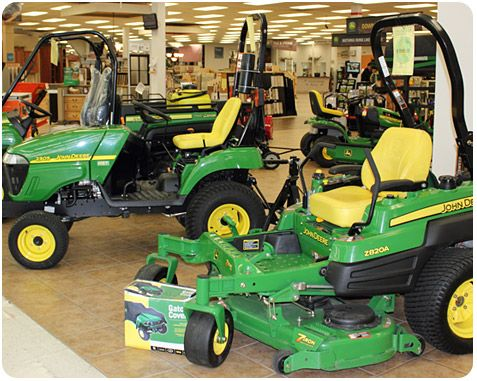 Lawn garden power equipment featuring new used equipment from brands like john deere echo for Used lawn and garden equipment