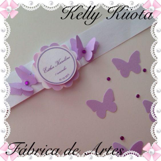 Rótulo personalizado para pote de papinha. Borboletas lilás e branco