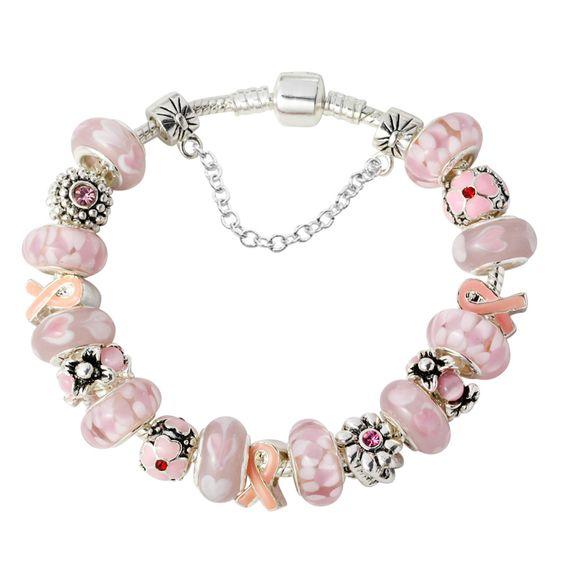 pink ribbon bracelts - Bing Images