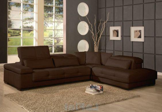 wohnzimmer mit einer grauen wand großem fenster sofa - Wohnzimmer - beige wand wohnzimmer