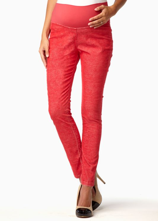 RPM Fall '12- Skinny Pant in Washed Poppy