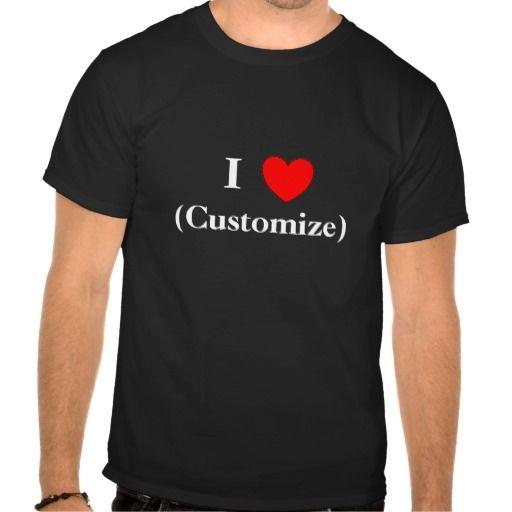 Sold Customize I Heart  Dark T Shirt