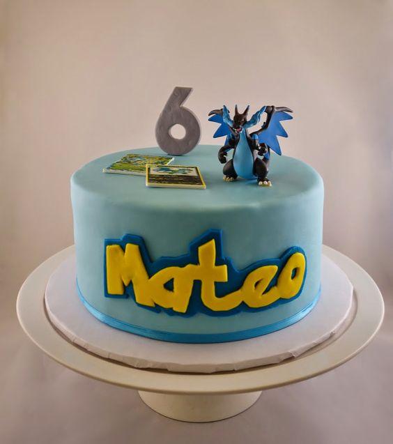 Pokemon Mega Charizard Ex Birthday Cake Sweet Tweets