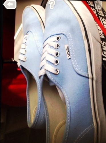 scarpe Vans donna azzurro 38.5 originali con scatola