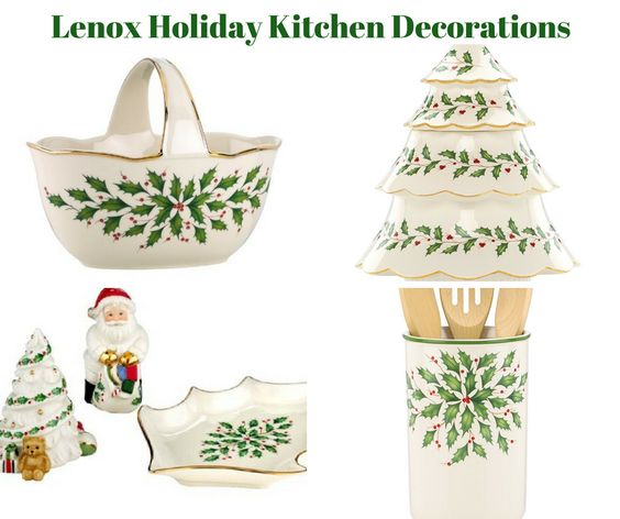 Lenox Holiday Kitchen Decorations