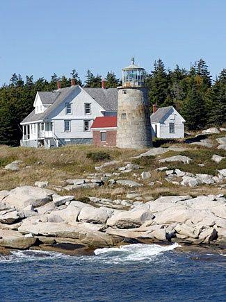 White Head lighthouse [1852 - Whitehead Island, Maine, USA]