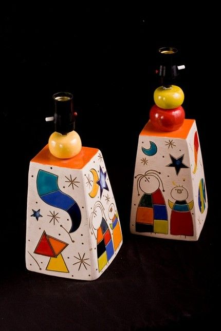 Joan Miro Lamps...Wow!!!