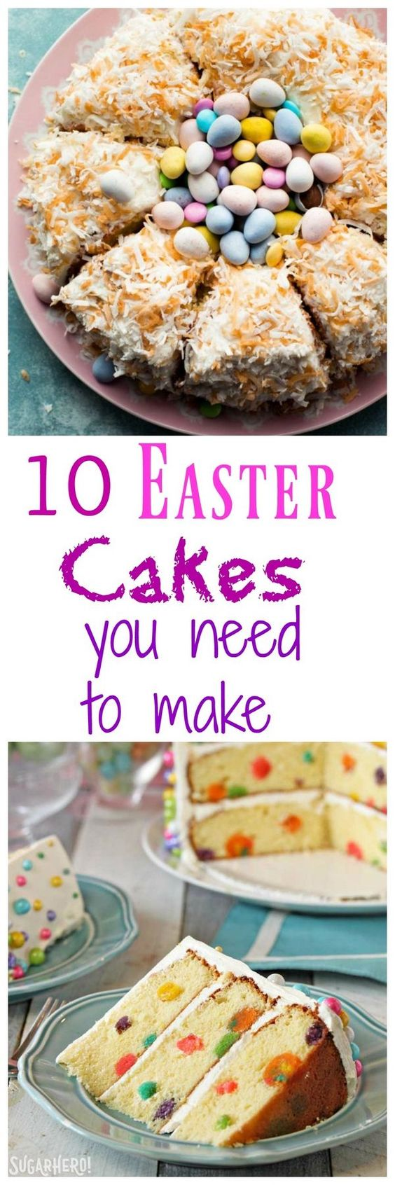 10 Easter Cakes to Celebrate the Holiday and Spring