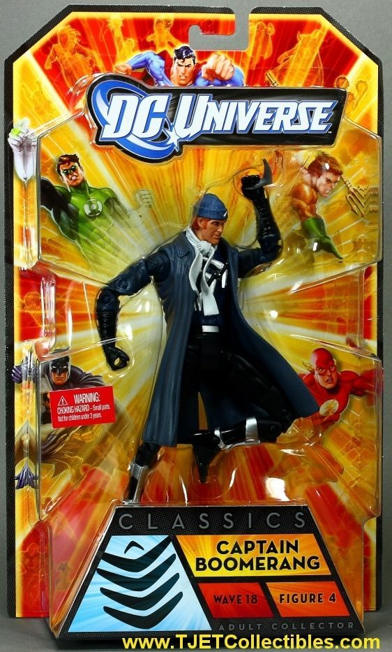 Captain Boomerang DC Universe Classics Wave 18 Action Figure Apache Chief | eBay