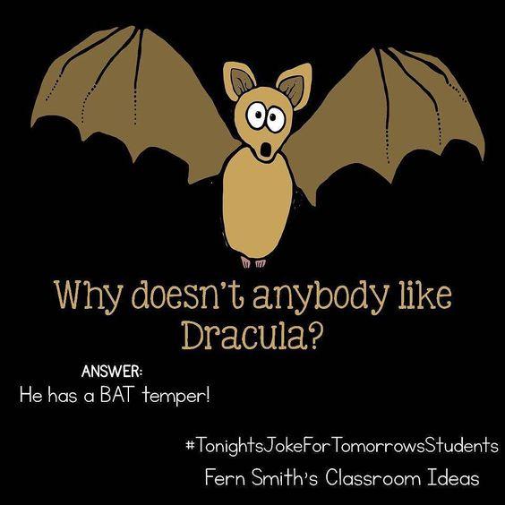 """"""" BAT"""" ( bad) joke!"""
