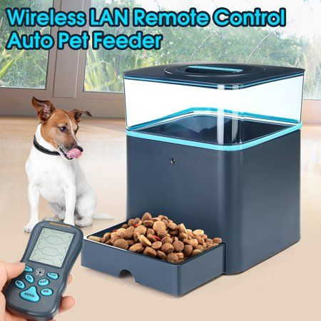 8l Bluetooth Automatic Programmable Electronic Pet Feeder Dog Cat