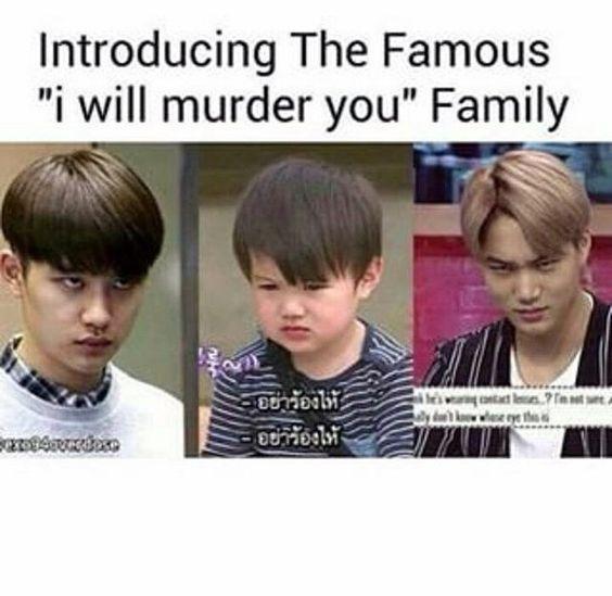 kaisoo, exo funny, exo meme, exo memes - image #3641019 by ...
