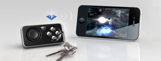 iMpulse Controller.  For gaming on idevices, for finding your keys, and for taking remote photo shots!
