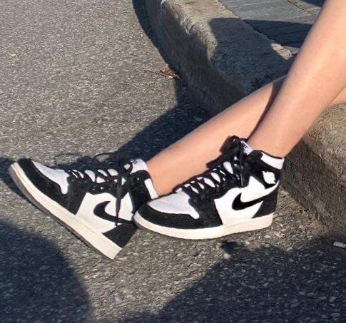 "jordan 1 "" panda "" | Jordan shoes girls, Black and white shoes, Shoes"