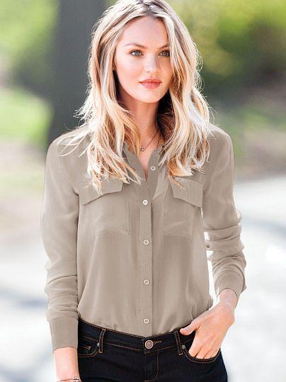 Candice Swanepoel Hair
