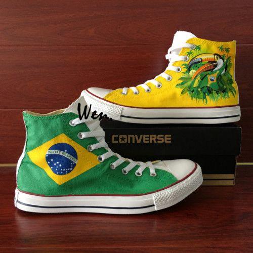 converse all star bandeira brasile