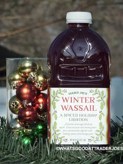 Winter, Trader joe's and Bourbon on Pinterest