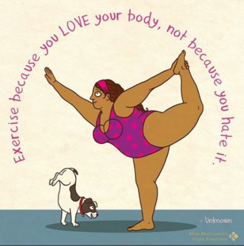 I'm so into these Miss Moti comics by body-positive artist Kripa Joshi, I can't stop posting them.