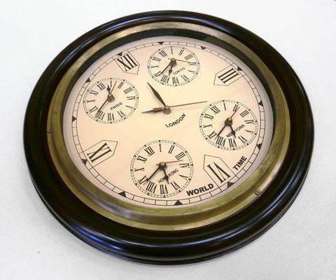 #regalos #originales  Reloj Mundial 40 cm Diámetro