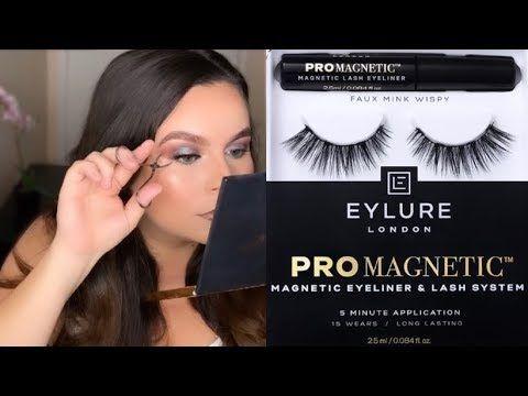 I Tested The Eylure Pro Magnetic Eyeliner Lash System Bop Or Flop Youtube Lashes Magnetic Eyelashes Eyeliner