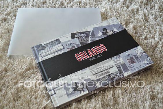 Foto Álbum Exclusivo: Fotolivro de Viagem | Orlando