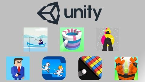 Learn How To Make Hyper Casual Games With Unity Ad Unity Logo Inspiration Fonts Unity Games