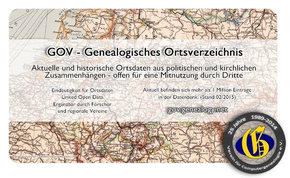 Ahnenforschung, Familienforschung, Genealogie - Der deutsche Genealogieserver - Verein für Computergenealogie - Blog