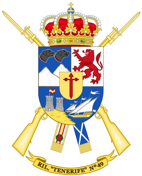 """RIL 49- Regimiento de Infantería Ligera """"Tenerife"""" Nº 49"""