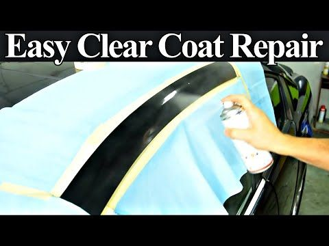 How To Repair Damaged Clear Coat Auto Body Repair Hacks Revealed Youtube Auto Body Repair Auto Body Auto Body Work