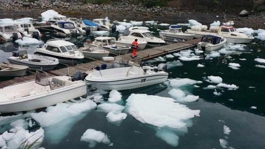 Puerto #Narsarsuaq #Groenlandia www.tierraspolares.es