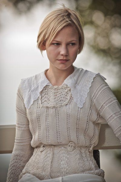 Valentine Wannop - Parade's End. I kind of want to grow my pixie out now...: