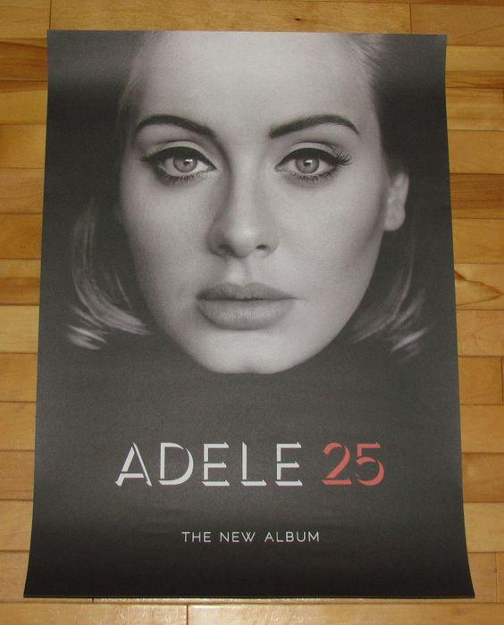 25 Adele: Adele 25, Music Store And Adele On Pinterest
