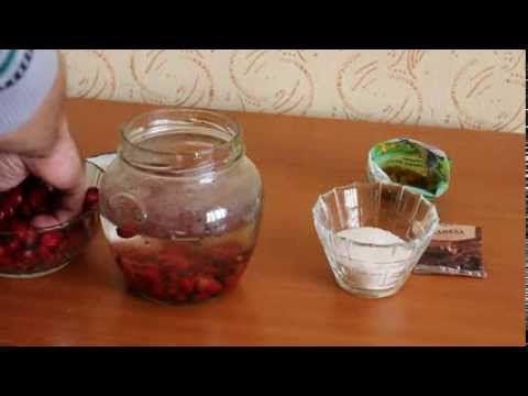 Как сделать вино с шиповника