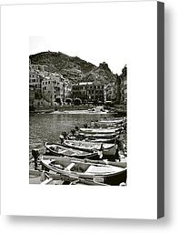 Vernazza Photograph by Don Saunderson - Vernazza Fine Art Prints and Posters for Sale