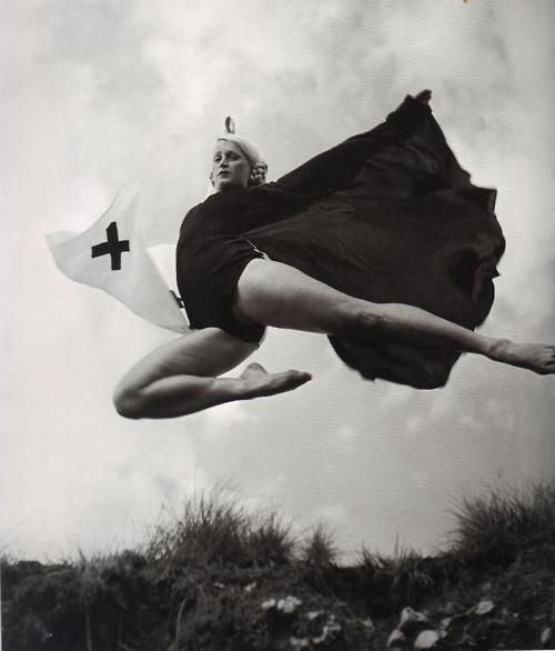 Philippe Halsman - Mademoiselle Lambert, France, c.1930