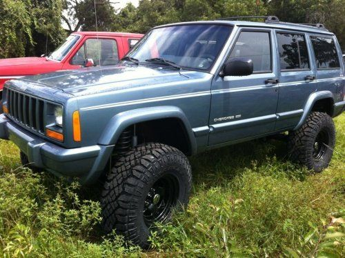 Jeep Cherokee With 6 Inch Lift Jeep Xj 3 Inch Lift 33 Inch Tires