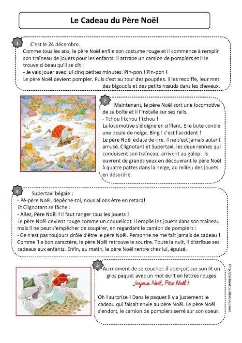 Populaire CP lecture textes Noël | CP | Pinterest | Texte noel, Lecture et Cp OD28