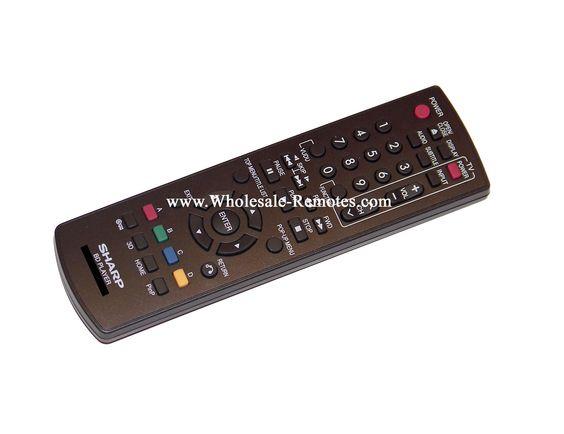 BD-HP25U Sharp Remote Control SHA-REM-152212