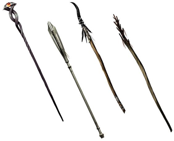 staff designs from dragon age  origins