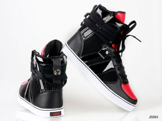 shoes red shoes radii shoes 20 7585 hip hop