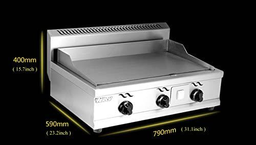 Amazon Com Commercial Stainless Steel Kitchen Teppanyaki Natural