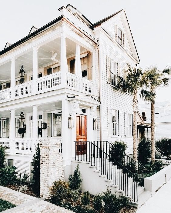 Home Exterior Aesthetic Gorgeous White Home Dream House Exterior My Dream Home House Exterior