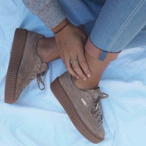 Chaussures Femme , Puma x Fenty Rihanna creepers